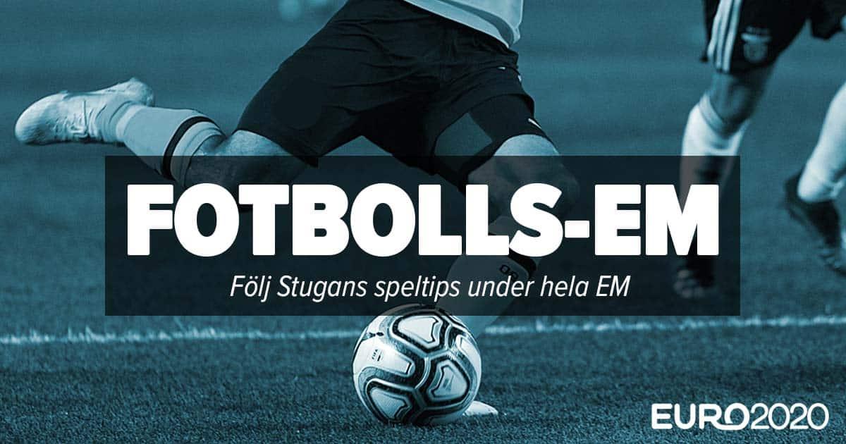 Fotbolls EM Stugans speltips