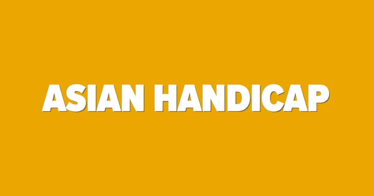 Asian Handicap bettingskola bild
