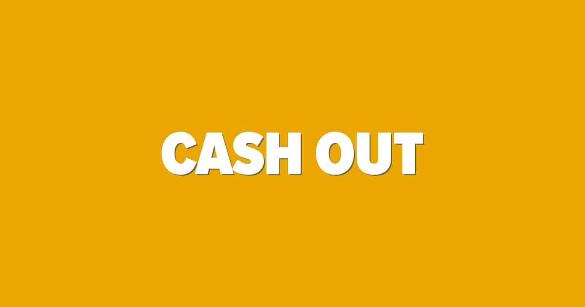 Cash Out sportsbetting bild