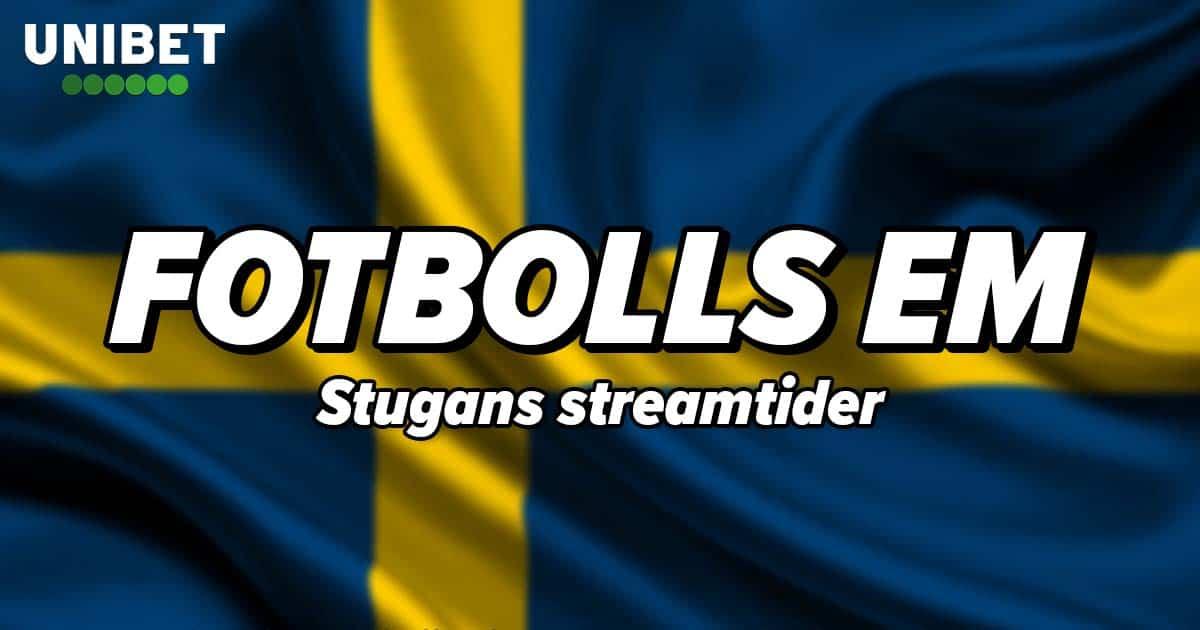Fotbolls EM tider