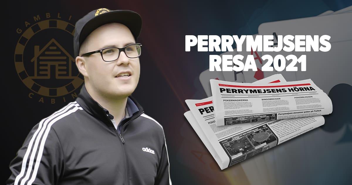Perrymejsen Resa och blogg 2021