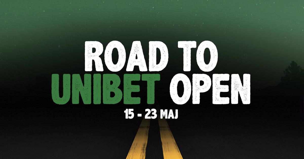 Road to unibet open bild