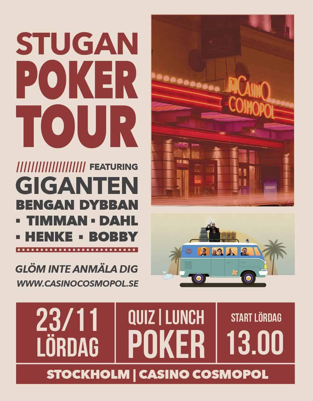 Stugans poker tour