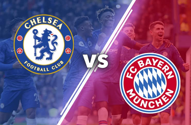 Chelsea vs Munchen 2020 bild