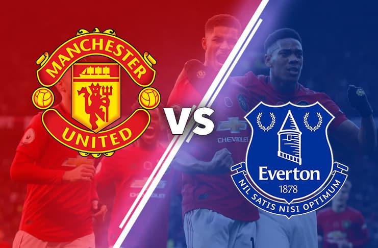 United vs Everton 2019 bild