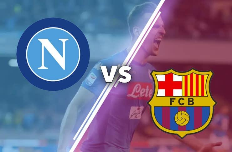 Napoli vs Barcelona 2020 Bild