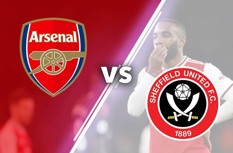 Arsenal vs Sheffield 2020 bild