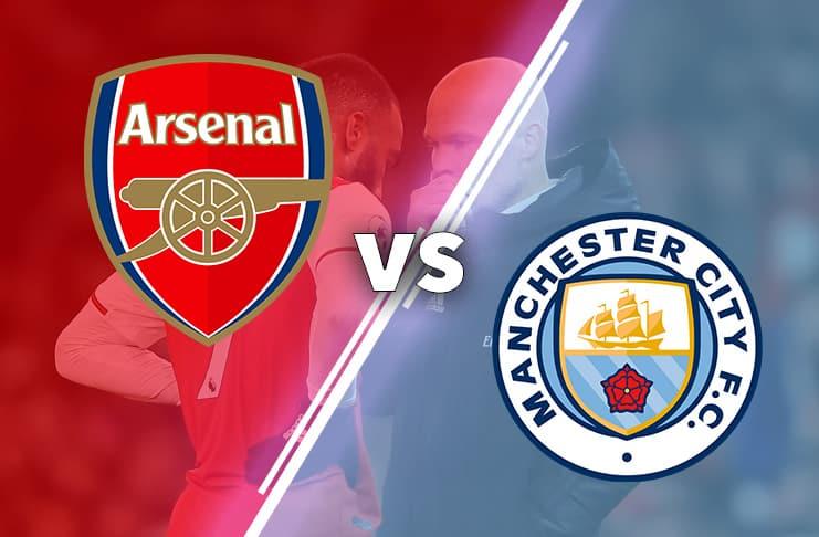 Arsenal vs City 2019 bild