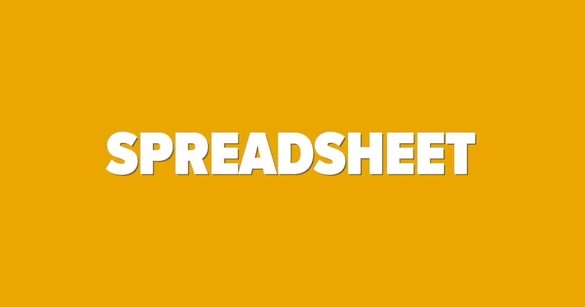 Spreadsheet bettingskola bild