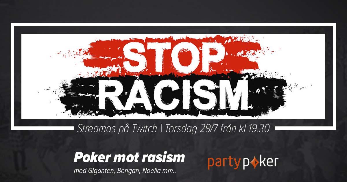 Poker mot rasism