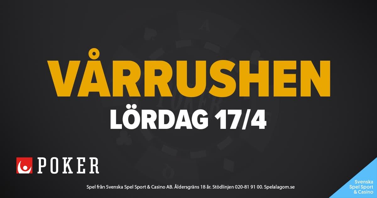 Vårrushen 2021 poker Svenska Spel