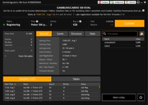 Poker-SM Kval Turnering