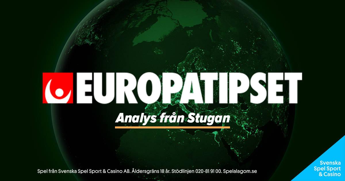 Europatipset Analys