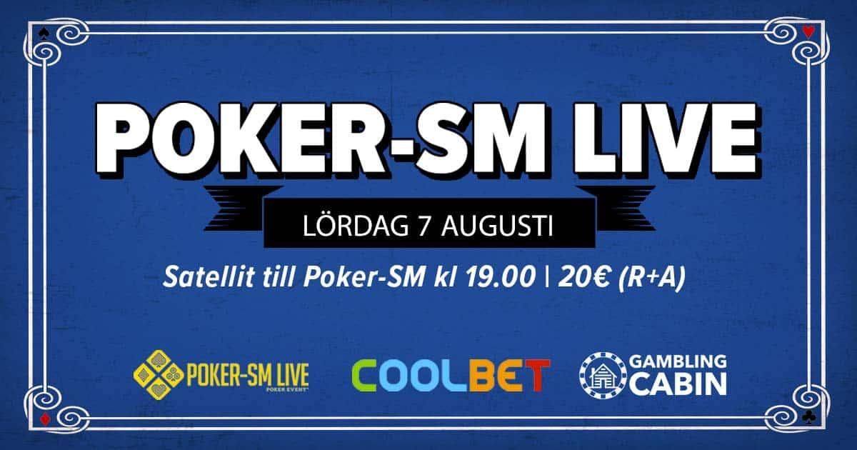 Poker-SM live med Stugan