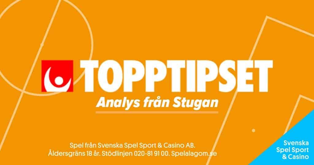 Topptipset Stugan analys Poolspel