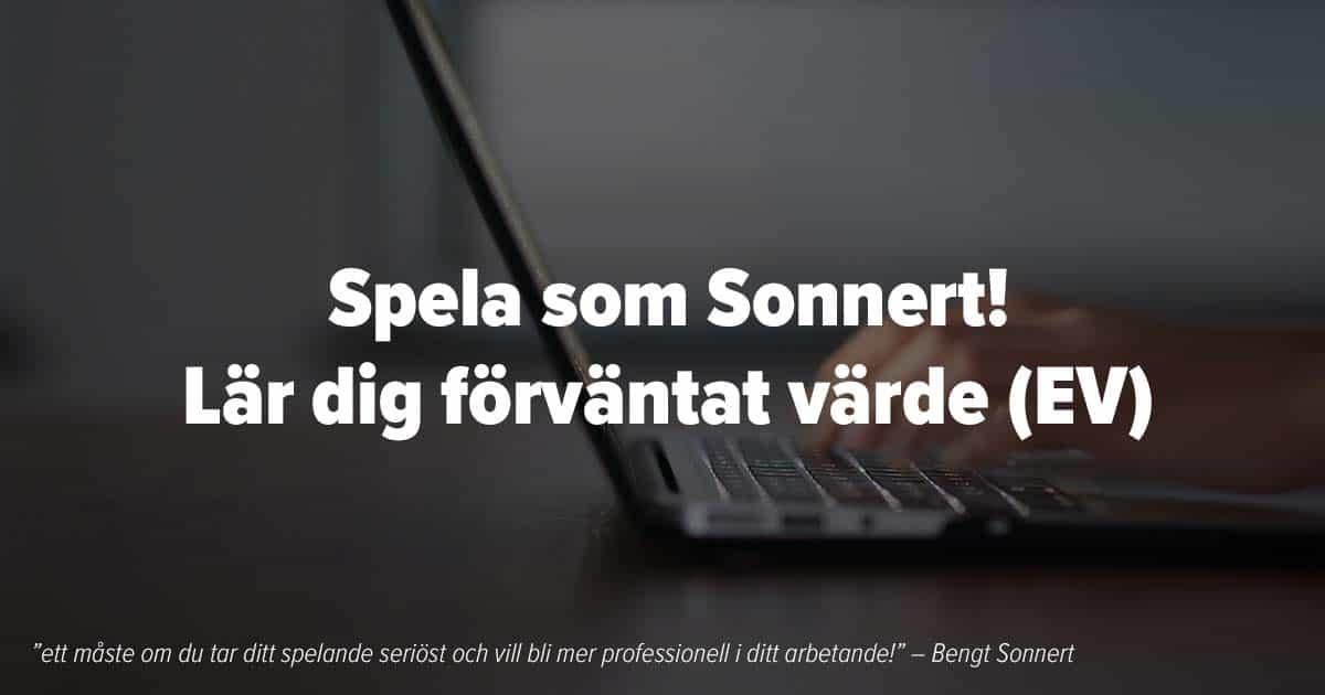 EV Spela som Bengt Sonnert